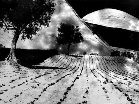 Mario Giacomelli, La grande luna, 1980