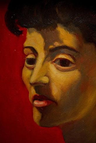 Lorenzo Alessandri, Studio per un ritratto di Piera Oppezzo, 1953