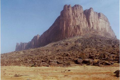 Montagna di Koyo nel Mali