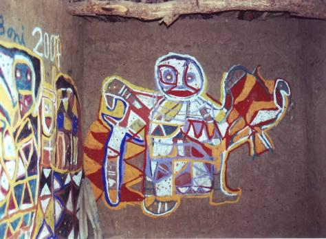 Boni, Maison de Alguima Guindo, fevrier 2008