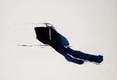 Pierre Tal Coat, Comme si en marche (acquaforte e acquatinta, 1980).