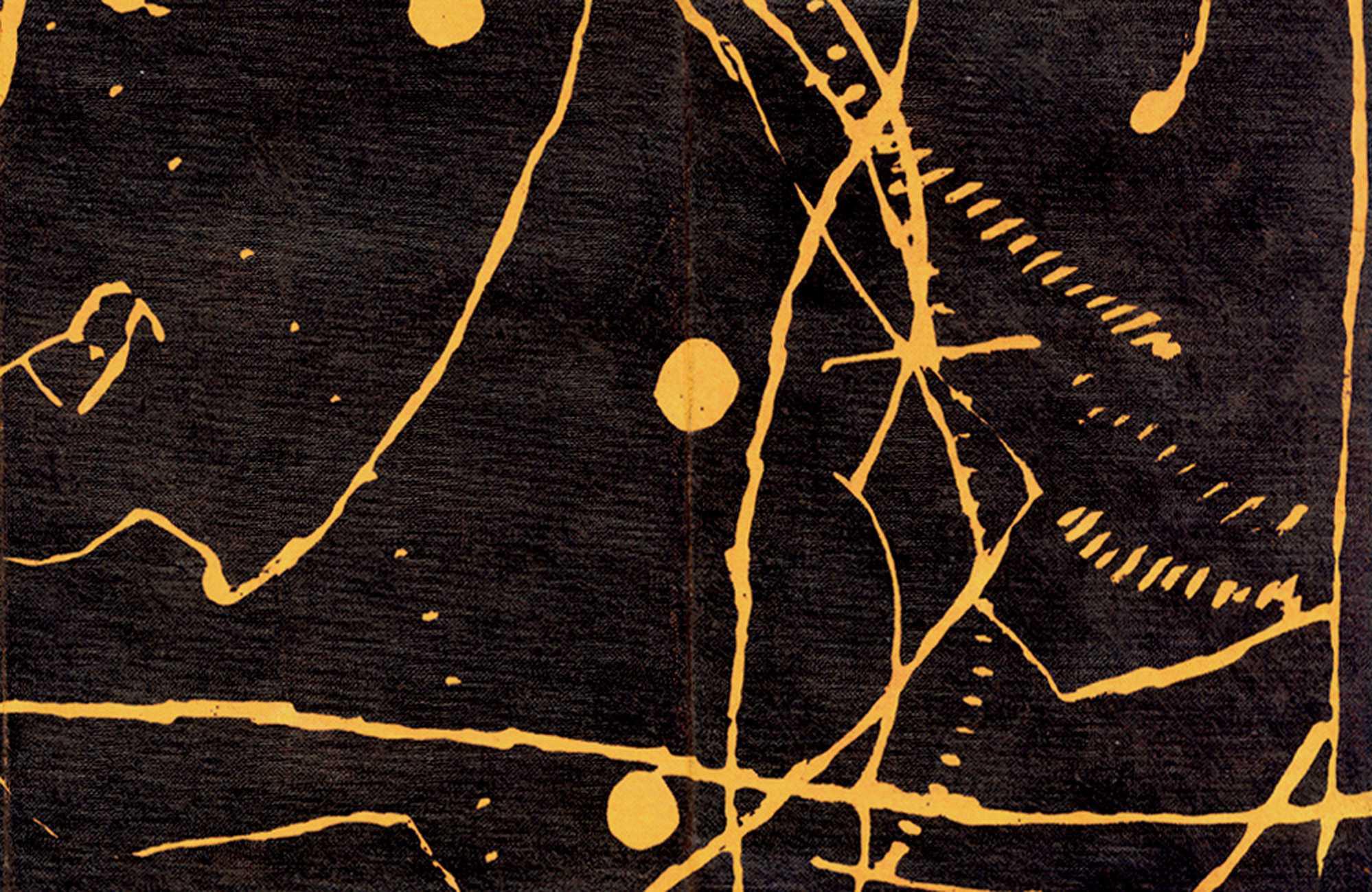james brown - line yellow shape, particolare lito 1999